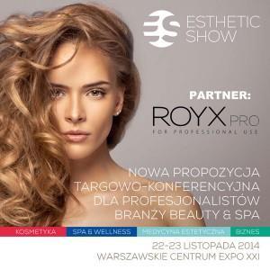 ROYX-PRO zaproszenie ESTETIC SHOW